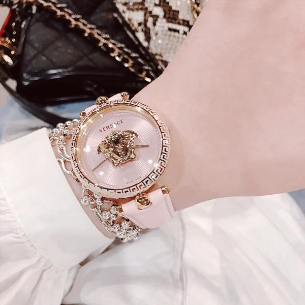 Đồng Hồ Thời Trang Nữ VersaceO12_White Daphnis- Dây Da Cao Cấp - Size 35 mm - FULLBOX bán chạy
