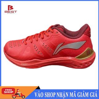 Giày cầu lông chính hãng Li-ning AYAR033-1 giày thể thao nam siêu hot màu đỏ thumbnail