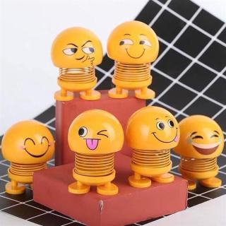 CMOBO 6 Thú Nhún Emoji con lắc lò xo con nhún thumbnail