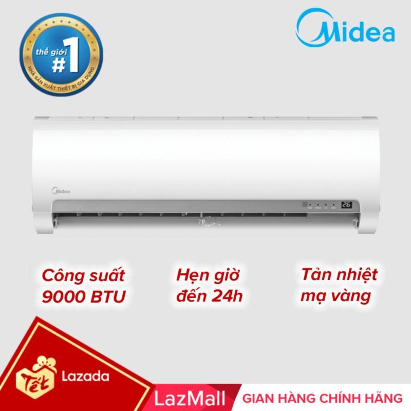 Bảng giá Máy lạnh 2 chiều 9000 BTU (1.0HP) tự làm sạch - Hàng chính hãng bảo hành 3 năm Midea MSMA1-10HRN1