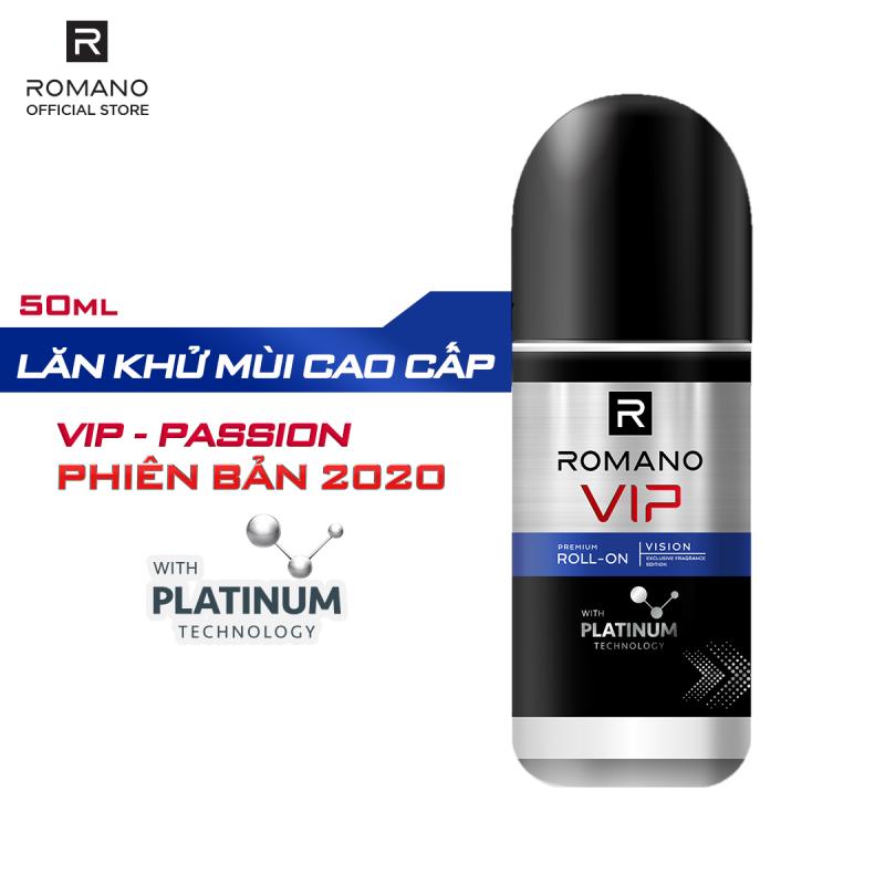[MỚI] Lăn khử mùi cao cấp Romano Vip Vision sang trọng cuốn hút 50ml giá rẻ
