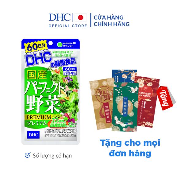 Viên uống DHC Rau Củ Quả Tổng hợp Premium 60 Ngày giá rẻ