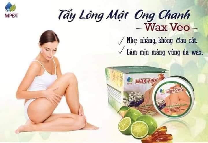 Combo wax veo và tinh chất triệt lông
