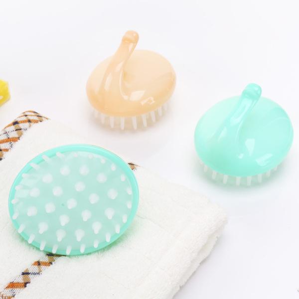 Lược gội đầu massage gai silicon, đồ dùng phòng tắm, đồ dùng tiện ích, massage da đầu, lược gội đầu thông minh (LGD02), tuancua