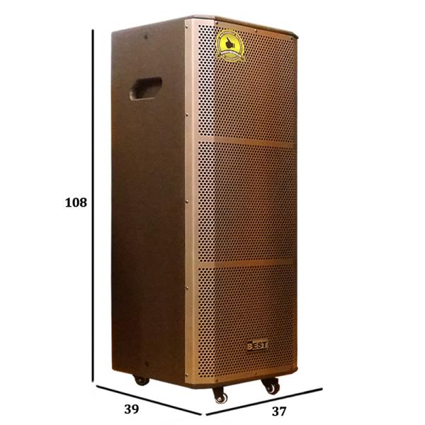 Loa kéo di động 2 bass Bradwell Best BT-8800 phiên bản mới