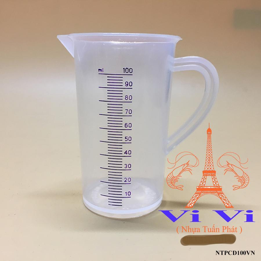 Hình ảnh Ca đong dung tích nhựa 100ml - Hàng Viêt Nam