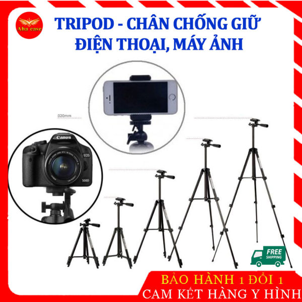 [Bán chạy] Chân đỡ điện thoại Tripod, giá đỡ điện thoại Tripod hỗ trợ quay phim chụp hình, đa năng , 3 chân tiện lợi, kích thước thay đổi dễ dàng, Tripod để livestream, quay clip