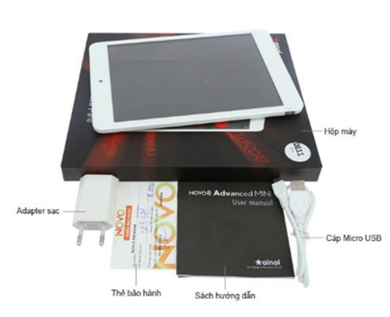 Máy tính bảng NOVO 8 ADVANCED Mini Ram 512MB Phiên bản Wifi