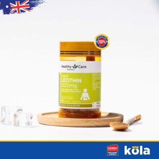 Mầm đậu nành Úc Healthy Care Super Lecithin 1200mg 100 viên thumbnail