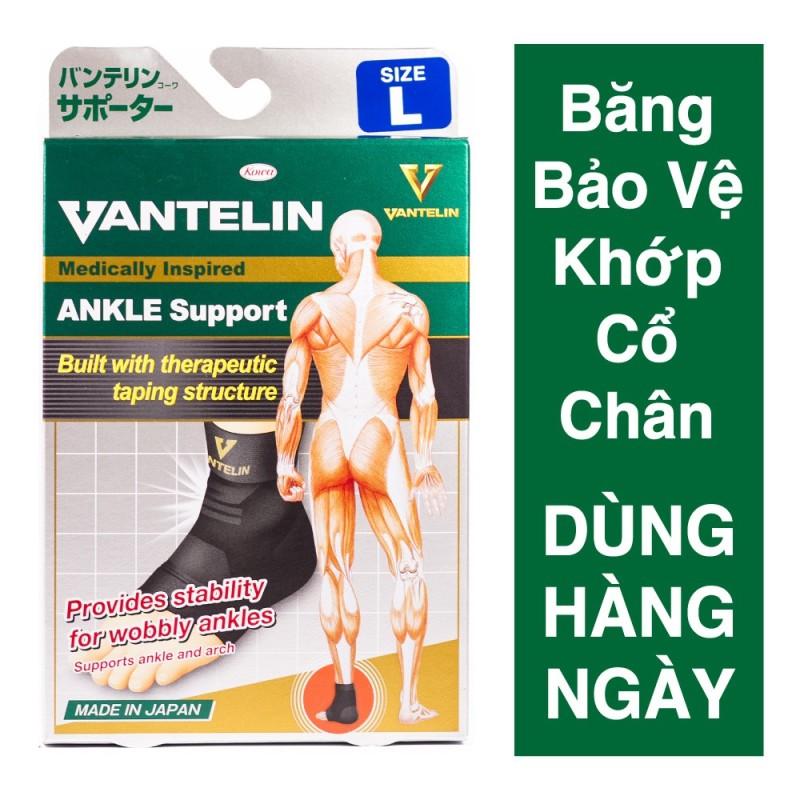 [HÀNG NHẬT BẢN] Băng CỔ CHÂN VANTELIN KOWA - Bảo vệ chấn thương CỔ CHÂN