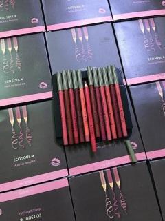 Bộ 12 Cây Son Chì Saem Eco Soul Multi Pencil Lip Chính Hãng thumbnail