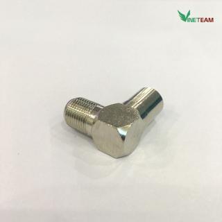 Đầu nối dây cáp bẻ góc 90 độ dành cho anten TV RF chất lượng cao -dc4369 4