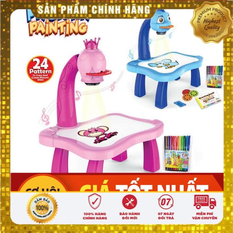[ BẢO HÀNH 1 ĐỔI 1 ] Bộ đồ chơi bàn vẽ 3D, bàn chiếu đa năng chiếu hình tập vẽ có đèn chiếu sáng thông mình cho bé, Bộ bàn đèn thông minh chiếu hình tập vẽ cho bé học vẽ