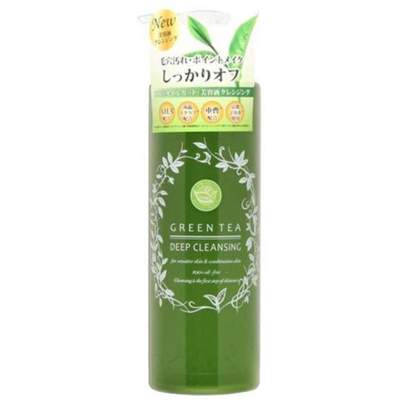 [ CÓ BILL ] - Gel Tẩy Trang Trà Xanh Santa Marche Green Tea Deep Cleansing 400ml Dành Cho Da Mụn