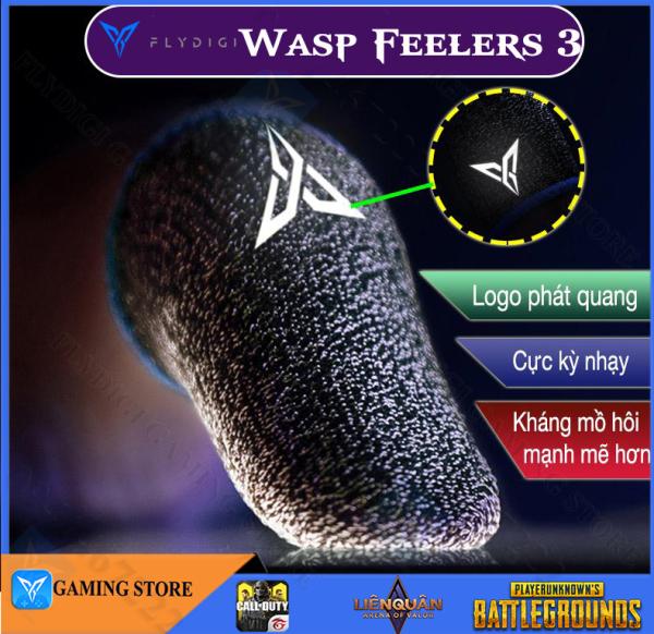 [ THẾ HỆ THỨ 3 ] Flydigi Wasp Feelers 3 Bao ngón tay ma thuật dành riêng cho điện thoại di động máy tính bảng-Hãng phân phối chính thức