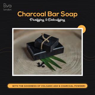 Charcoal Bar Soap 30g thumbnail