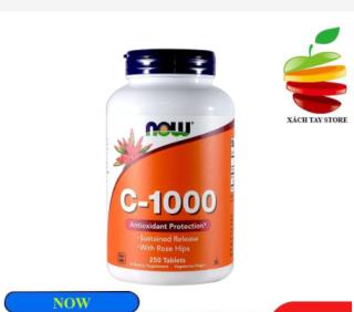 Viên Bổ Sung Vitamin C - NOW Giảm Thâm, Sáng Da thumbnail