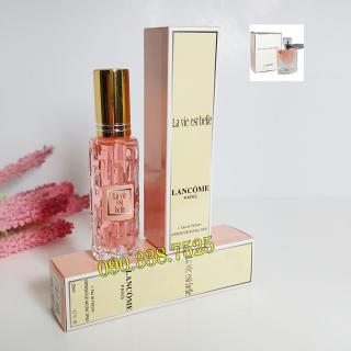 [HCM]Combo 2 chai nước hoa mini nữ 20ml dạng xịt- Mùi Lancome La vie est Belle thumbnail