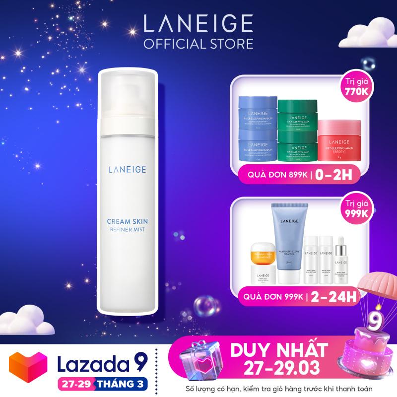 Xịt Khoáng Dưỡng Da Laneige Cream Skin Mist 120Ml giá rẻ