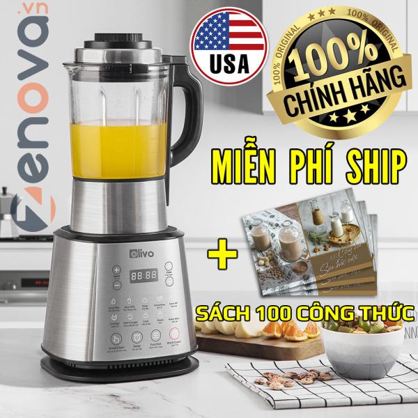 [CHÍNH HÃNG] Máy Làm Sữa Hạt Olivo X20 - USA - Nấu Không Tràn, Xay Cực Mịn - Máy Xay Nấu Đa Năng Thương Hiệu Mỹ