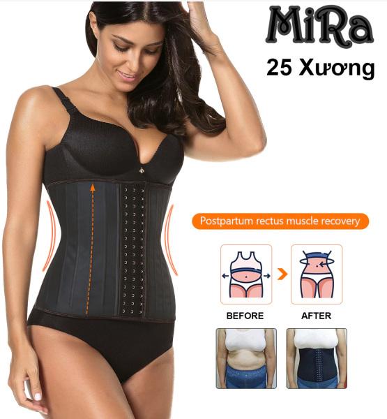 Nơi bán Đai nịt bụng Vita latex 25 xương cao 27cm hàng nhập khẩu Italy phân phối trực tiếp bởi MiRa E giúp phái đẹp giảm mỡ bụng, Thon gọn vòng eo cấp tốc