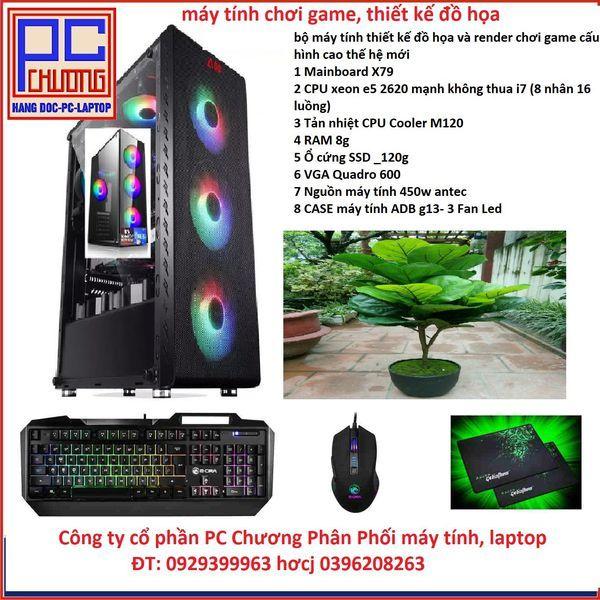 Bảng giá Chiến Game, Main X79 ,CPU  xeon E5 2620 6 lõi 12 luồng tương đương chíp i7 Phong Vũ