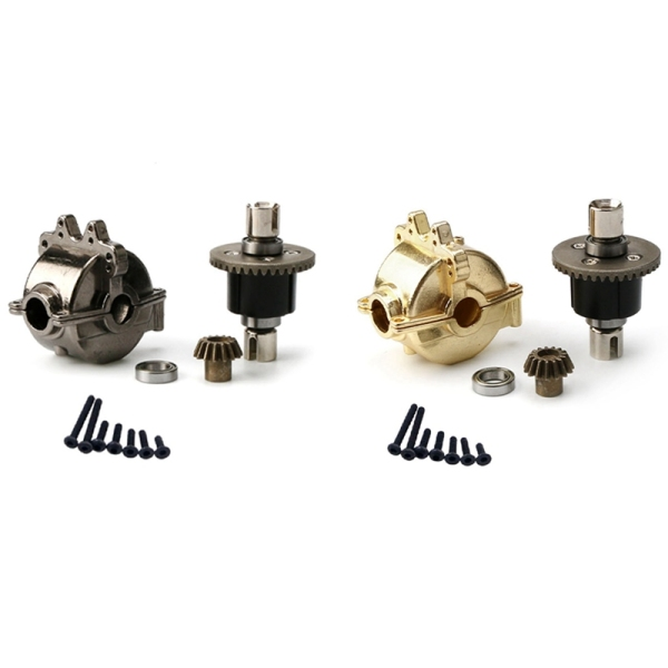 Mua 2set Aluminum Alloy Gear Box Shell with Metal Gear Differential A949-12 for WLtoys A949 A959 A969 A979 Black & Gold