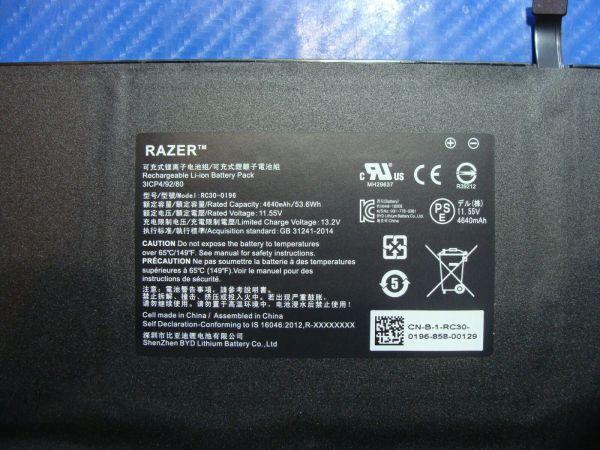 Bảng giá Pin(battery) Original Laptop Razer Rc30-01962E52 Zin Phong Vũ