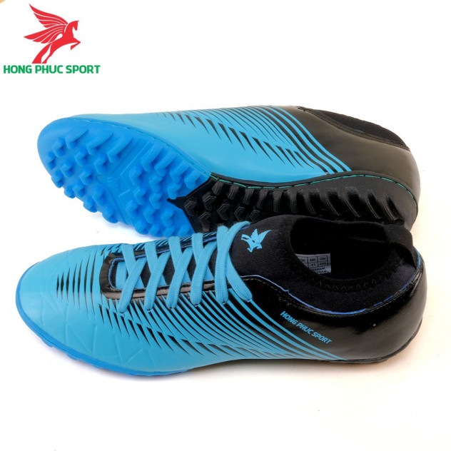 Giày đá bóng sân cỏ nhân tạo thương hiệu Hồng Phúc HP20.3 khâu full đế full hộp giá rẻ