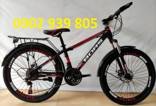 Xe đạp 24 inch BORS tay đề bánh căm thumbnail