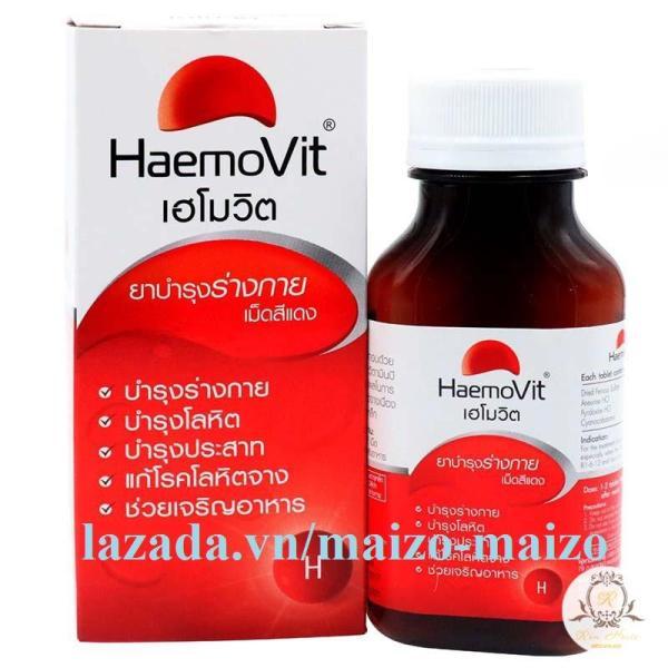 HaemoVit Plus Capsules -  Tăng Cân An Toàn và Hiệu Quả Cho Người Gầy nhập khẩu