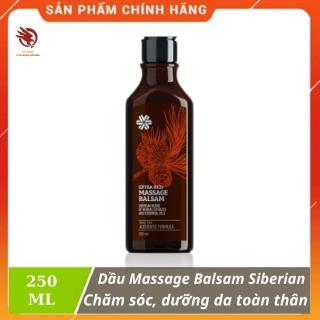 [HCM][ CHÍNH HÃNG ] - Dầu mát xa SIBERIAN Extra Rich Massage Balsam giúp chăm sóc và dưỡng da toàn thân - chai 250 ml thumbnail