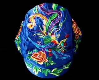 2020 Mẫu Mới Du Xuân Mũ Phong Cách Dân Tộc Mũ Hip Hop Mũ Lưỡi Trai Phong Cách Retro Hoa Thêu Red Hat Nữ Mũ Nồi thumbnail