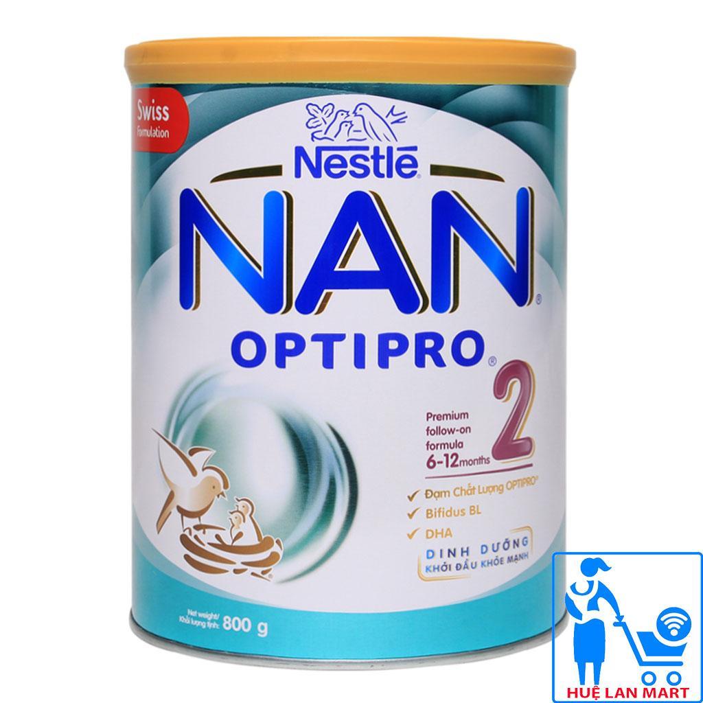 Sữa Bột Nestlé NAN Optipro 2 - Hộp 800g (Dành...