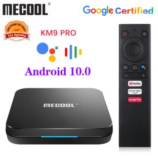 Tvbox Android 10 điều khiển giọng nói Google Voice Assistant bản quyền SmartTV MECOOL9 thumbnail