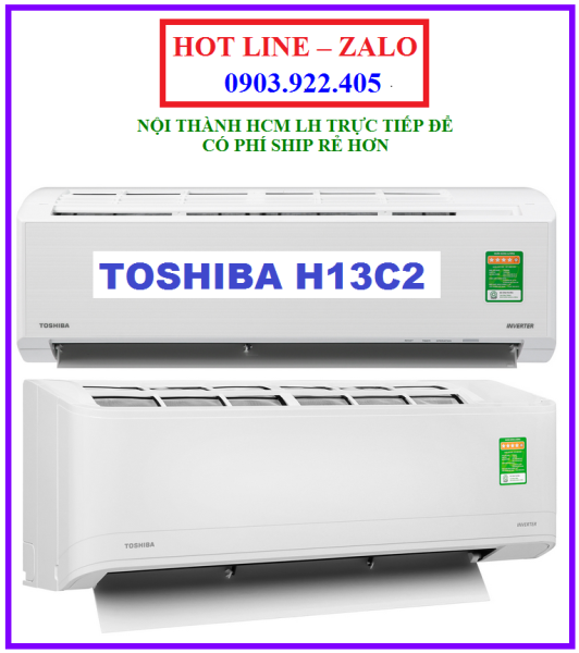Máy lạnh Toshiba Inverter 1.5 HP RAS-H13C2KCVG-V MODEL 2020