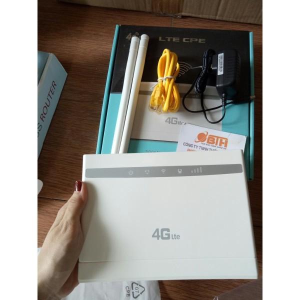 Bảng giá Bộ phát wifi từ sim 4G CPE CP101 Tặng kèm 2 râu wifi. Phong Vũ