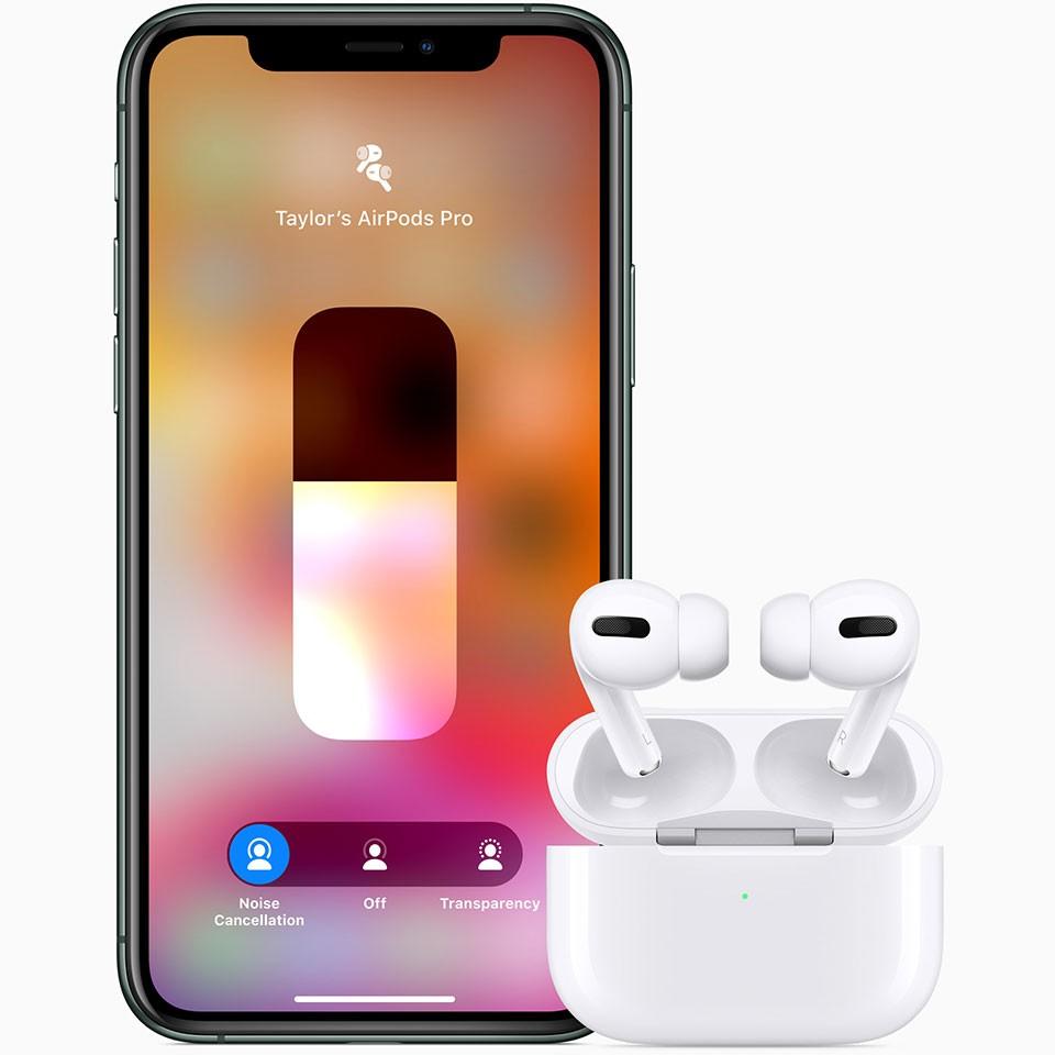 [ ÂM THANH HOT ] Tai Nghe Bluetooth Apple AirPods Pro True Wireless Full Box- Âm Thanh Đỉnh Cao- Siêu Bass- Full Chức Năng Định Vị, Đổi Tên, Pop Up Tự Động, Xuyên Âm, Chống Ồn, Chống Nước. Tặng Kèm Bao Silic