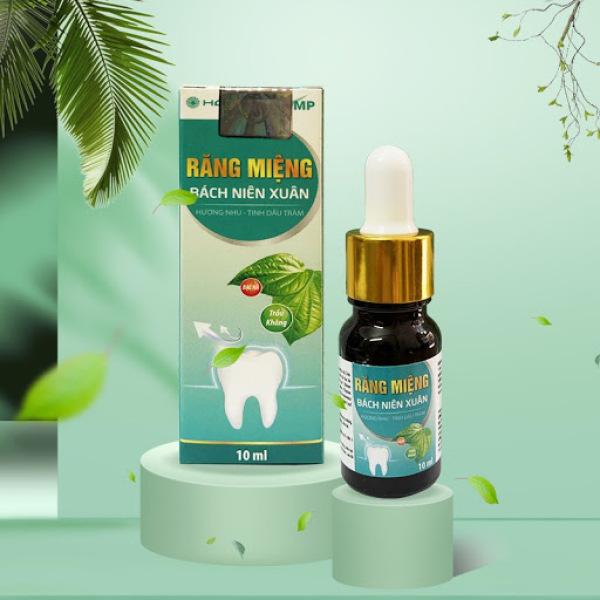 [ cực hiệu quả]Răng miệng Bách Niên Xuân giúp giảm hôi miệng, sạch lưỡi, hết sâu răng