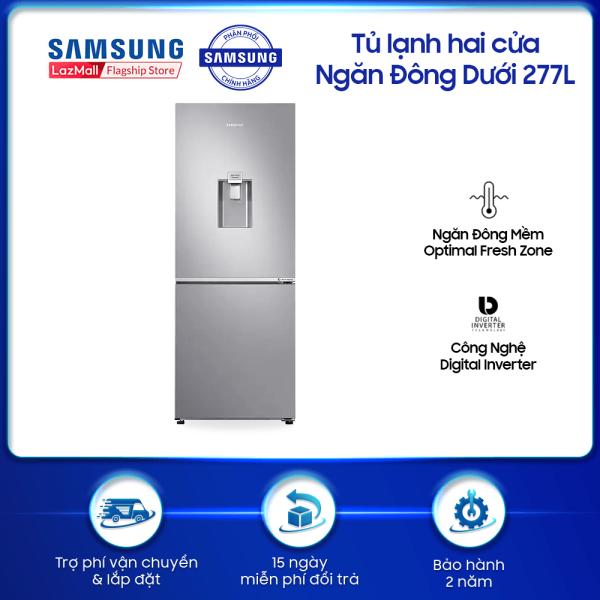 Tủ lạnh hai cửa Ngăn Đông Dưới Samsung 277L (RB27N4170S8/SV)