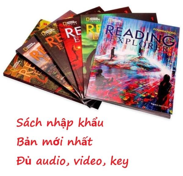 Reading explorer - sách nhập khẩu 100% tiếng anh - bản mới nhất - NXB National Geographic Learning