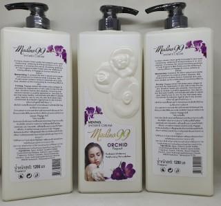 Sữa tắm madino99 orchid hương hoa lan kết hợp bạc hà thơm mát hàng nội địa chính hãng thái lan 1200 ml thumbnail
