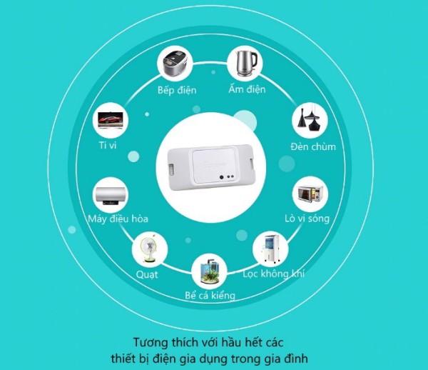 Công tắc WiFi thông minh 1 cổng BASIC R3