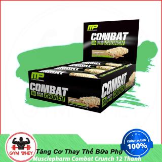 Bánh Bar Cung Cấp Protein Thay Thế Bữa Ăn Phụ MusclePharm Combat Crunch 12 Thanh Authentic thumbnail