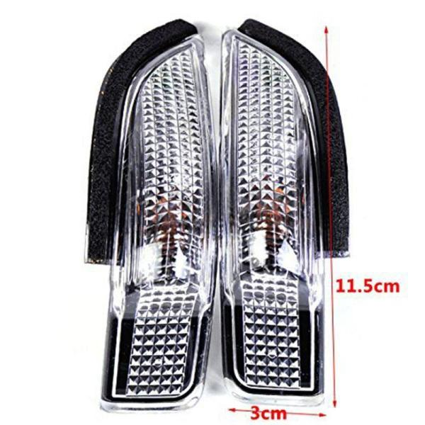 Side Mirror Indicator Turn Signal Light Lamp fit for Toyota Camry Avalon Corolla Prius C 81730-02140