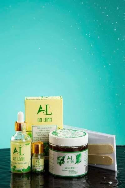 Combo WAX LẠNH + MỠ TRĂN AN LÀNH hỗ trợ triệt lông , dưỡng da. giá rẻ