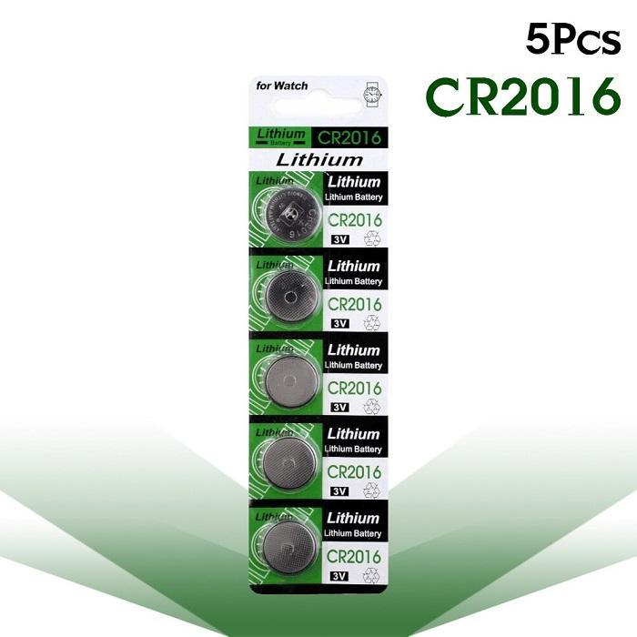 Giá combp 2 Vĩ 5 viên pin nút CR2016