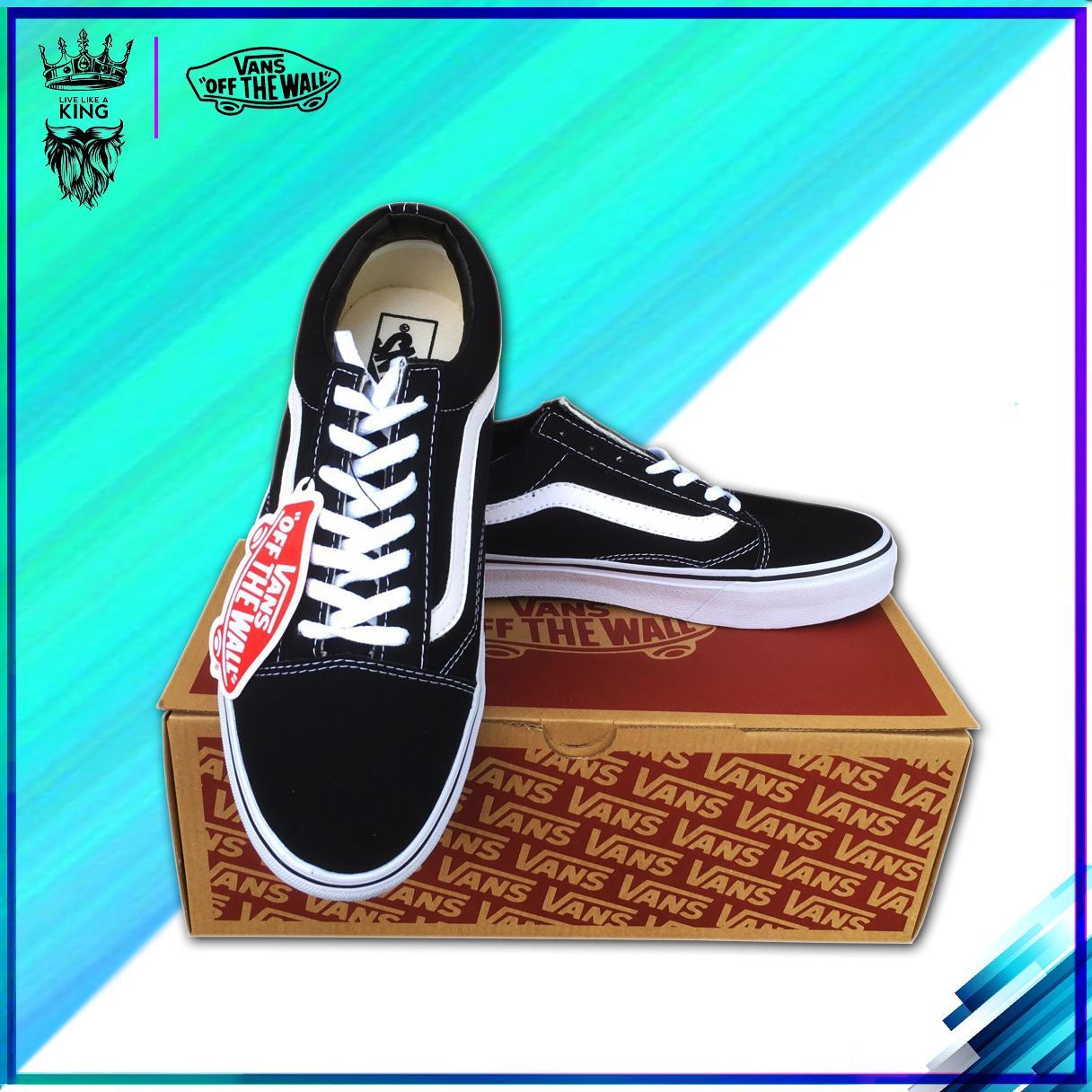 [FullBox+tặng Vớ] Giày Sneaker VANS_OLD SKOOL màu đen hàng VNXK