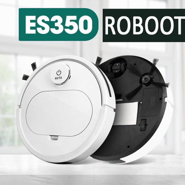 robot hút bụi lau nhà thông minh On-tek ES350 Pro Cao cấp,  3 Trong 1, Cảm Biến Chạm, Chống Va Chạm Thông Minh, Tự Động Dọn Nhà Làm Sạch Mọi Nơi Trong Sàn Nhà, Quét Lau Hút Tất Cả Trong Một, Phù Hợp Với Gia Đình & Văn Phòng