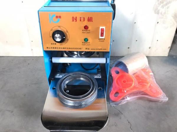 Máy dập miệng ly,máy dán màng cốc IC - 25